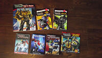 Transformers Movie & Books Collection