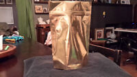 Gold Craft \Gift Bags  6 for $2.00