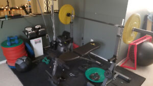 7 foot olympic barbell