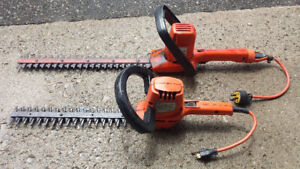 Electrical bush trimmers