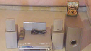 Pioneer Home Theatre system with Reciever and speakers