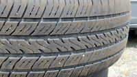 4 all seasons MICHELIN HARMONY tires  98T BSW  215/65R16