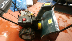 29 inch 10 h.p snowblower for parts