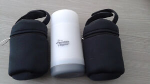 Tommy Tippee portable bottle warmer and isothermic bags