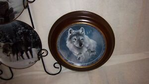 "Wolf Art, Bradford Exchange ""Collectable Fine Porcelain Plates Kitchener / Waterloo Kitchener Area image 8"