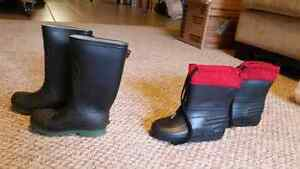 Size 11 boys rubber boots