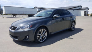 2011 Lexus IS 350 F Sport (limited edition) Low kms with NAV