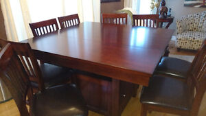 Table/chair set for sale