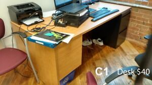 Desk and Table