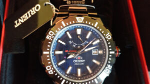 ORIENT Watch M-Force Delta SEL07001D0 Made in Japan- SAPHYRRE CH