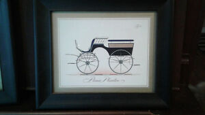 3 carriage prints