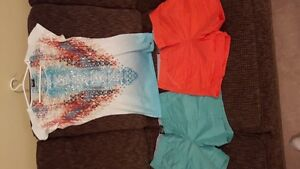 Women's Point Zero Shirt and 2 Shorts - Used Once