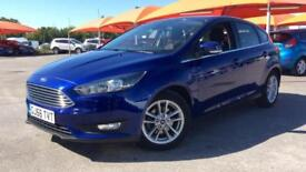 2016 Ford Focus 1.0 EcoBoost 125 Zetec (Nav) 5 Manual Petrol Hatchback