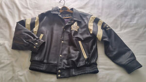 Maple Leafs Roger Edwards Leather Jacket Limited Edition