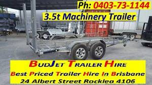 TRAILER HIRE RENTAL MACHINERY TRAILER WTH RAMP FROM $75 A DAY Brisbane Region Preview