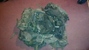 Canadian / us military army clothing, jacket, back packs lot