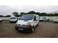 Renault Trafic 1.9TD SL27dCi 100, 113000 miles, Air con, Choice of 7