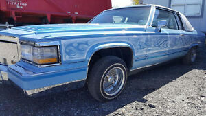 1983 Cadillac Fleetwood Coupe  (2 dr) Lowrider Custom Hydraulics