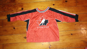 12 month team Canada hockey jersey