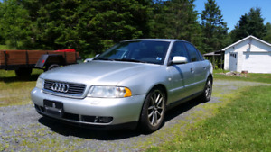 Audi A4 turbo 5 speed All wheel drive