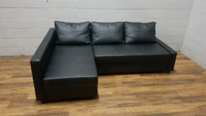 Free delivery: Black Ikea Friheten Sofa bed