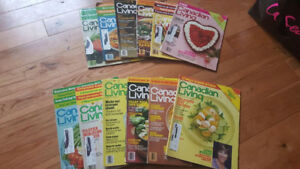 Vintage Canadian Living Magazines