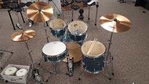 Ludwig Drum Sets, Snares, Zildjian Cymbals and a Used Yamaha Kit