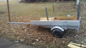 Utility trailer light to pull