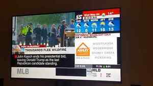 65inch Vizio smart tv with built-in WI-FI still have plactic aro