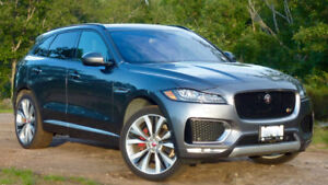 2017 Jaguar F-Pace S AWD - Super Clean, Loaded