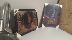 2 Brand New - Bob Marley Hologram Pictures