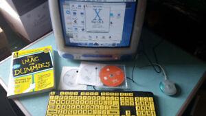 VINTAGE MAC OS X IMAC COMPUTER
