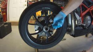 Ducati 10 spoke Rear Wheel rim Superbike monster 848evo SFhyper