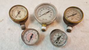 Jauges à Pression / Pressure gauges