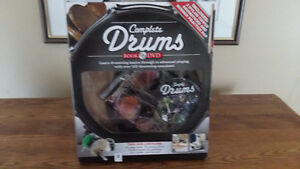 Drum DVD, Practice Pads, Sticks and Instructional Guide NEW
