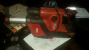HILTI cordless ROTARY HAMMER DRILL AND DUST REMOVAL SYSTEM