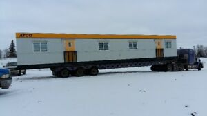 ATCO OFFICE UNIT TRAILER ON SKIDS 14'X60' (2 Available)