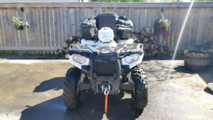 2015 Polaris Sportsman 570 EPS + Trailer
