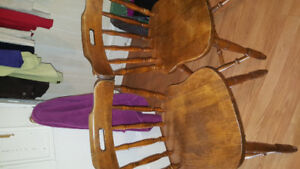 2 Sets of Chairs
