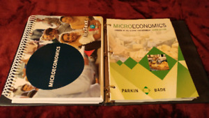 ECON 101 - Microeconomics required texts