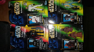 1995/96 Star Wars 4 figure Set by Kenner