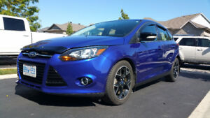 2013 Ford Focus SE - HEATED LEATHER, NAV, LOW KMs