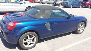 2001 Toyota MR2 Sypder Convertible