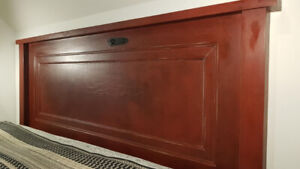 Head Board - Made from Antique Door