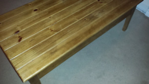 Knotty Pine Coffee Table