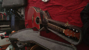 Ovation Acoustic-Electric.Guitar, Applause Balladeer