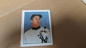1983 Mickey Mantle TCMA 50 years of Yankee all stars card