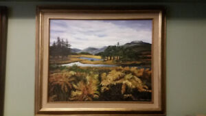 SHEILA ROGER OIL PAINTING