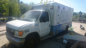 2003 Ford E450 Ambulance.