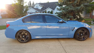 2015 BMW F80 M3 Sedan (Yas Marina Blue) **With Extended Warranty